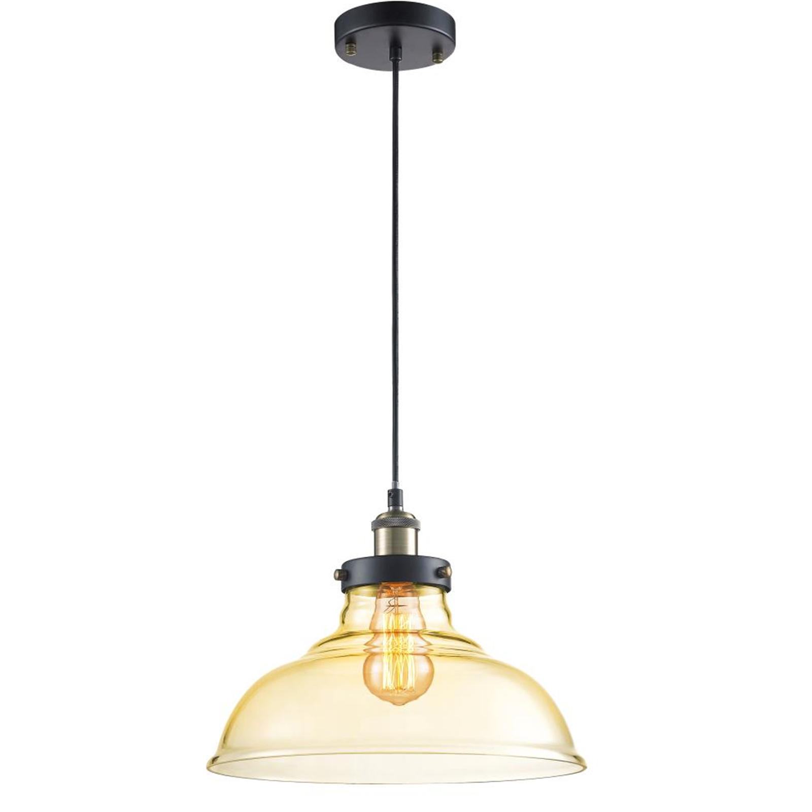 Vintage style lighting fixtures Vintage Industrial Serene Life Pendant Light Hanging Lamp Light Fixture Vintagestyle Glass Lighting Accent Walmartcom Walmart Serene Life Pendant Light Hanging Lamp Light Fixture Vintage