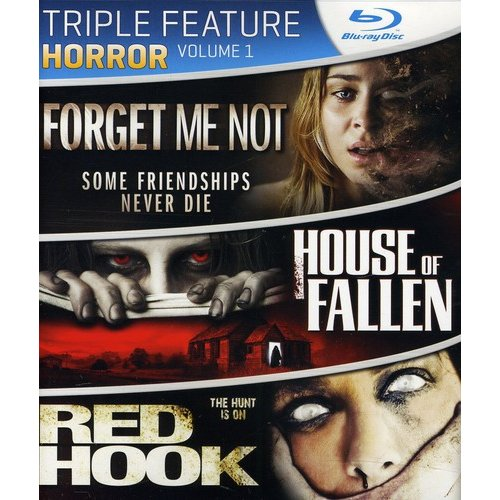 Horror Triple Feature: Volume 1 - Forget Me Not / House Of Fallen / Red Hook (Blu-ray) (Widescreen)