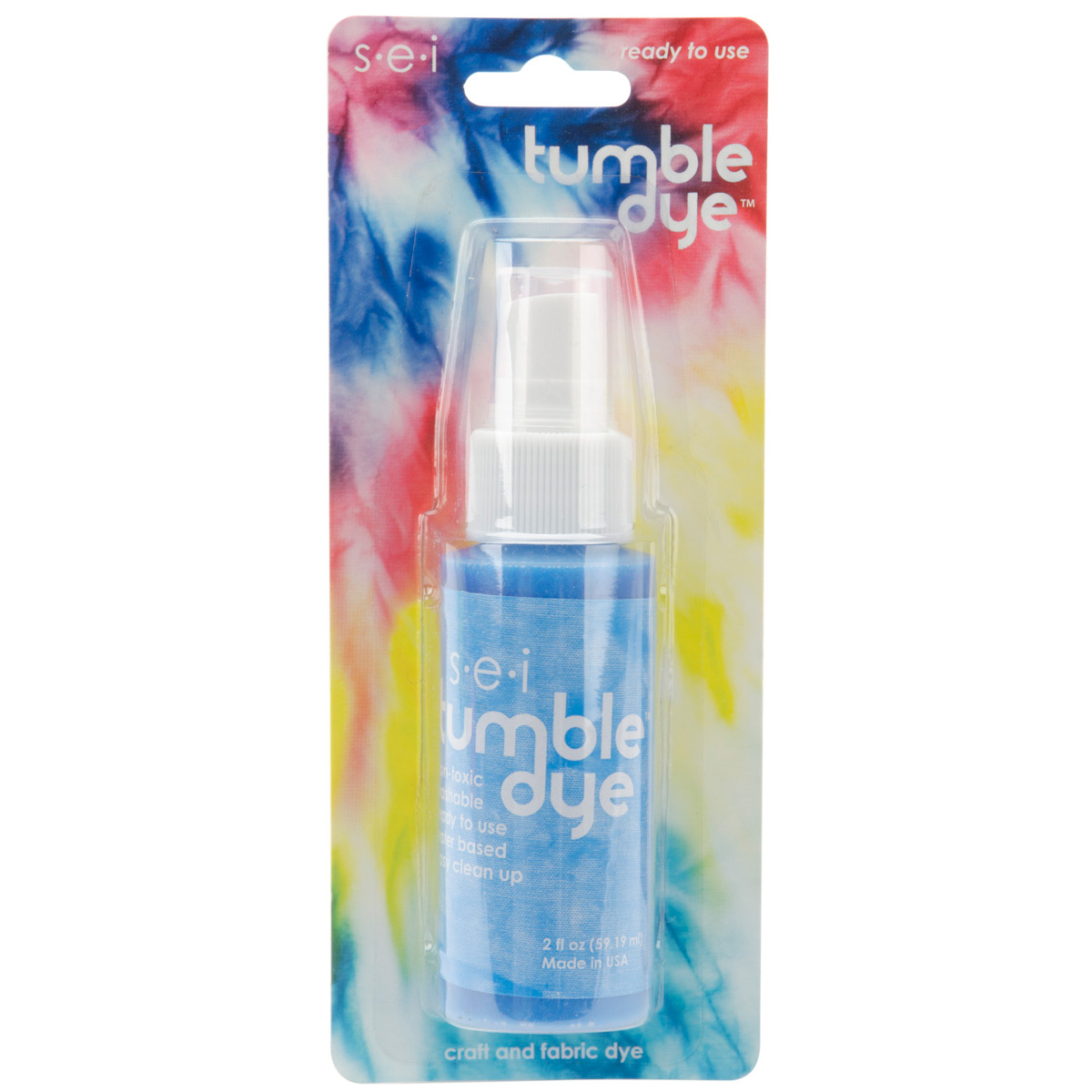 Tumble Dye Spray Paint 2 Ounces-Sky Blue