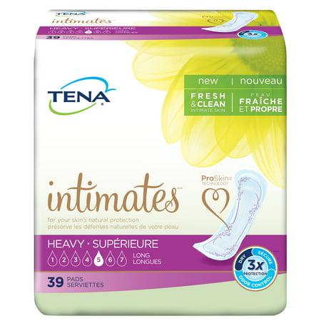 - Tena Heavy Long Incontinence Pad, 39 Ct