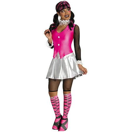 Deluxe Draculaura Adult Halloween Costume