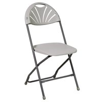 Office Star Work Smart Fan-Back Folding Chairs, Set of 4