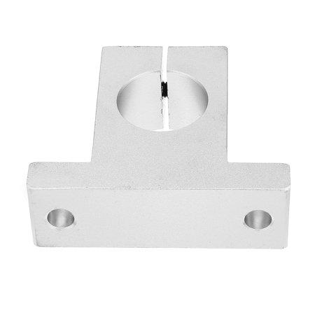 4pcs SK12 mouvement linéaire serrage en aluminium Rail Guide soutien à arbre Diamètre 12 mm - image 3 de 6