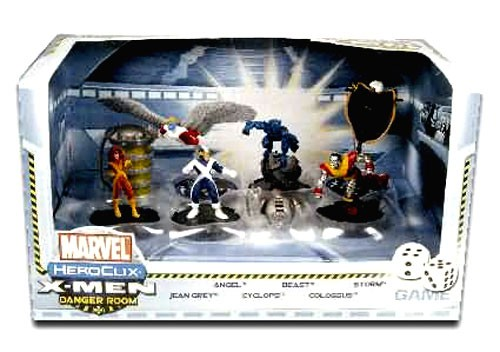 Marvel HeroClix X-Men Danger Room Game by