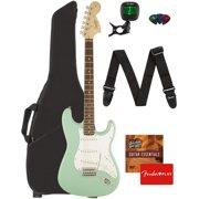 Fender Squier Affinity Stratocaster - Surf Green w/ Gig Bag