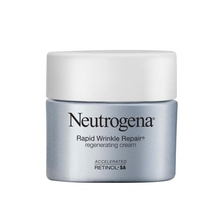 Neutrogena Rapid Wrinkle Repair Face & Neck Cream with Retinol, Anti-Aging, 1.7