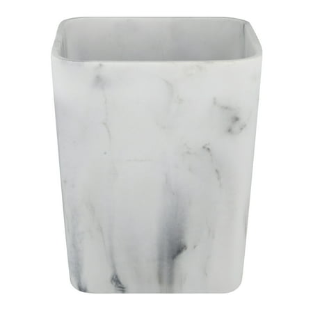 Faux Marble Flooring - Better Home and Gardens Faux Marble Waste Can