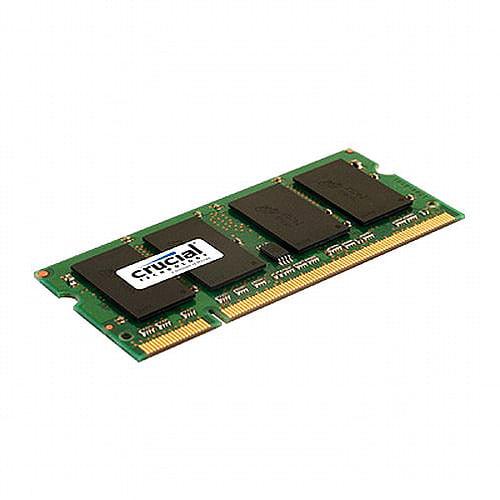 Crucial 2GB 200-pin SODIMM DDR2 PC2-5300