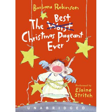 The Best Christmas Pageant Ever (Audiobook)