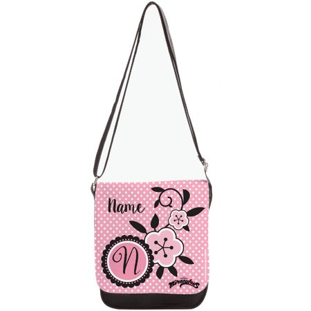 Personalized Miraculous Marinette Purse, Black