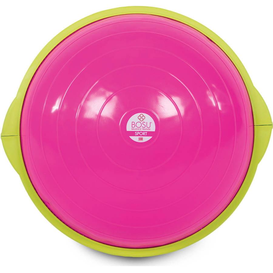 Bosu Ball Original: BOSU Sport Balance Trainer, Pink 33149105244