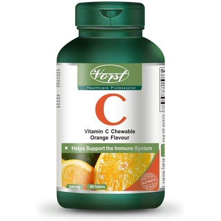 Vorst Vitamine C 500 mg 90 Comprimés à croquer saveur orange - image 1 de 3