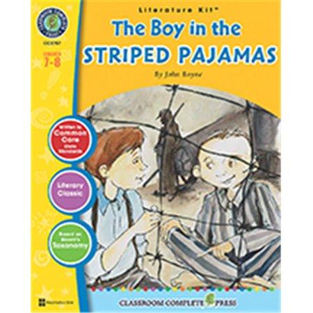 Classroom Complete Press CC2707 The Boy In The Striped Pajamas Literature Kit - Lynda Allison Classroom Binding Kit