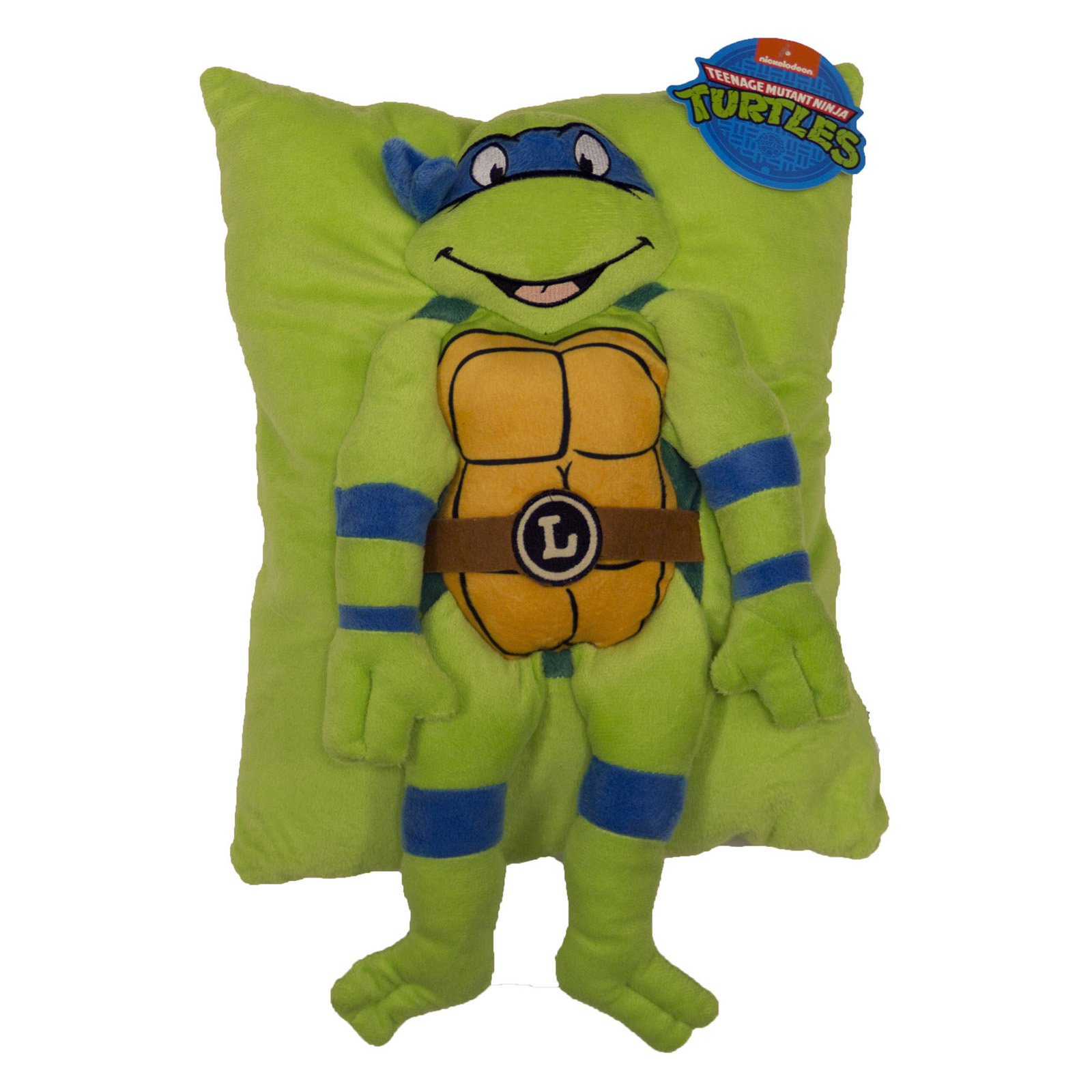 Teenage Mutant Ninja Turtles Retro Leonardo Character Pillow by Nickelodeon