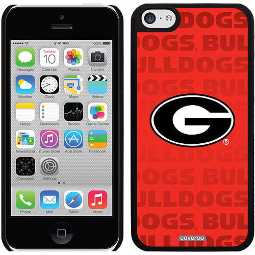 Georgia Repeating Design on iPhone 5c Thinshield Snap-On Case by Coveroo