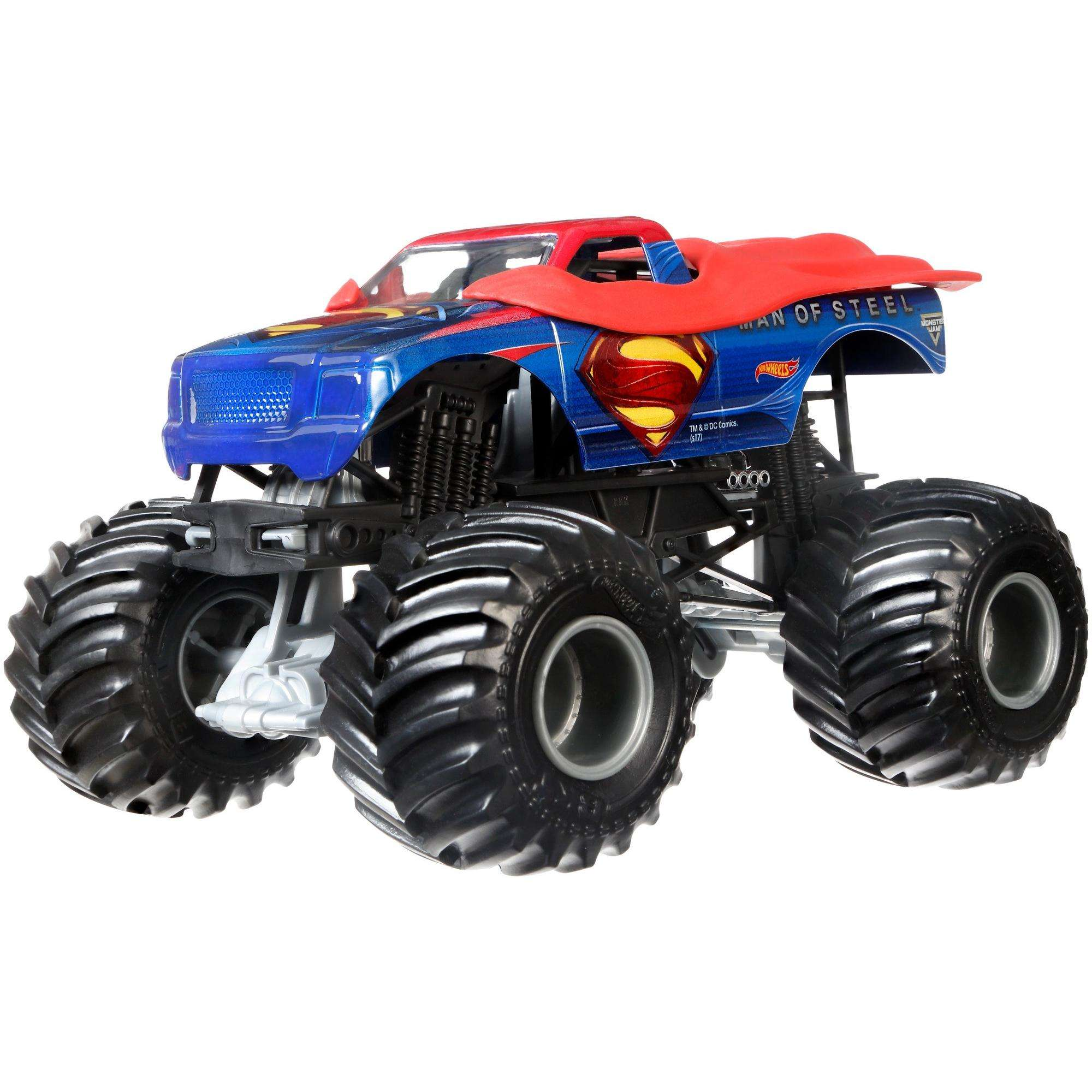 Hot Wheels Monster Jam Man Of Steel Vehicle
