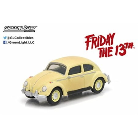 1963 Series (1963 volkswagen beetle friday the 13th part iii (1982) movie hollywood series 9 1/64 by greenlight 44690 d)