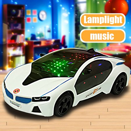 LED Light Up Mini Car Toys Electronics Flashing Lights Music Sound Car Play Vehicles Toys For Toddler Boys, Kids Gift - 3 to 12 Years](Play Cars For Toddlers)