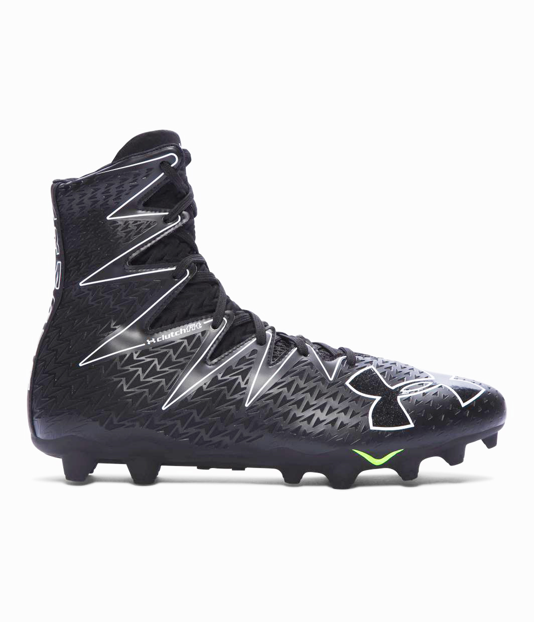 New Mens Under Armour Highlight MC Football Cleats 1269693-001 Size 10 M Black