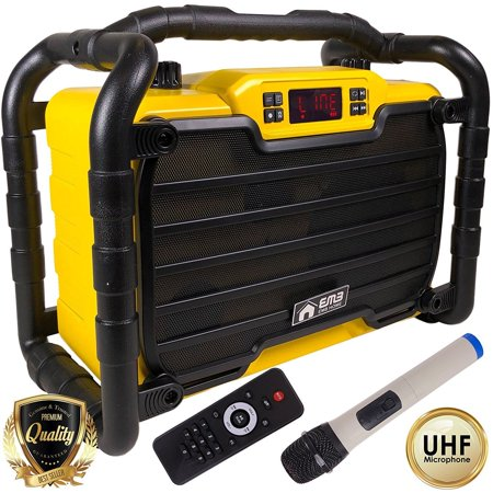 EMB PK2 300W Power Box Jobsite Rechargeable Waterproof Speaker w/