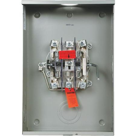 Eaton Corporation 200a Bypass Meter Socket UTTE5213BCH