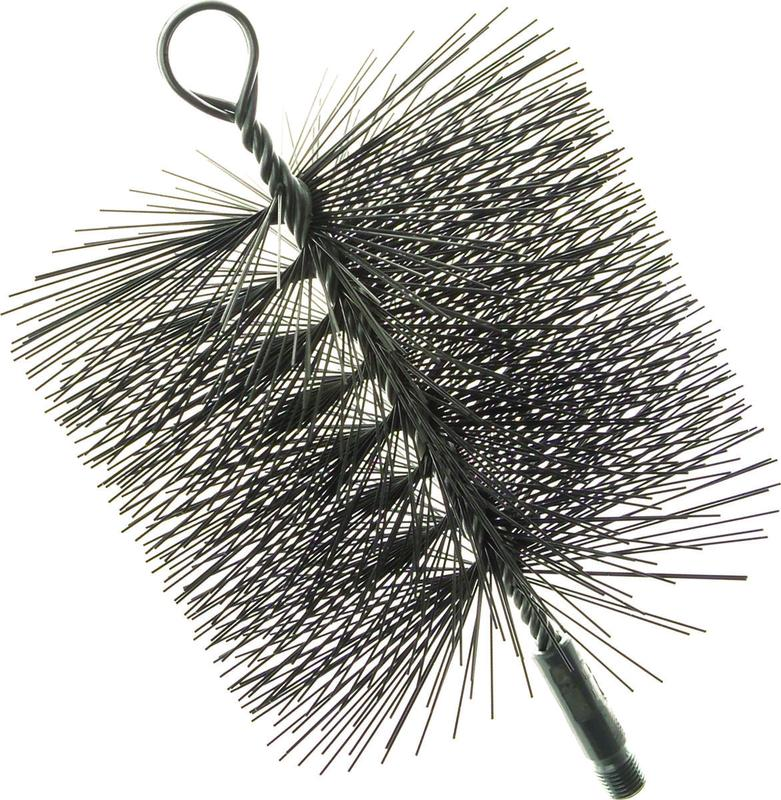 Imperial BR0211 Premium Rectangle Chimney Cleaning Brush, 7 x 11 in, Wire Bristle Trim by Chimney Cleaning Supplies