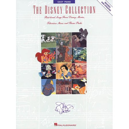 The Disney Collection: Best Loved Songs from Disney Movies, Television Shows and Theme Parks (Easy Piano Series)