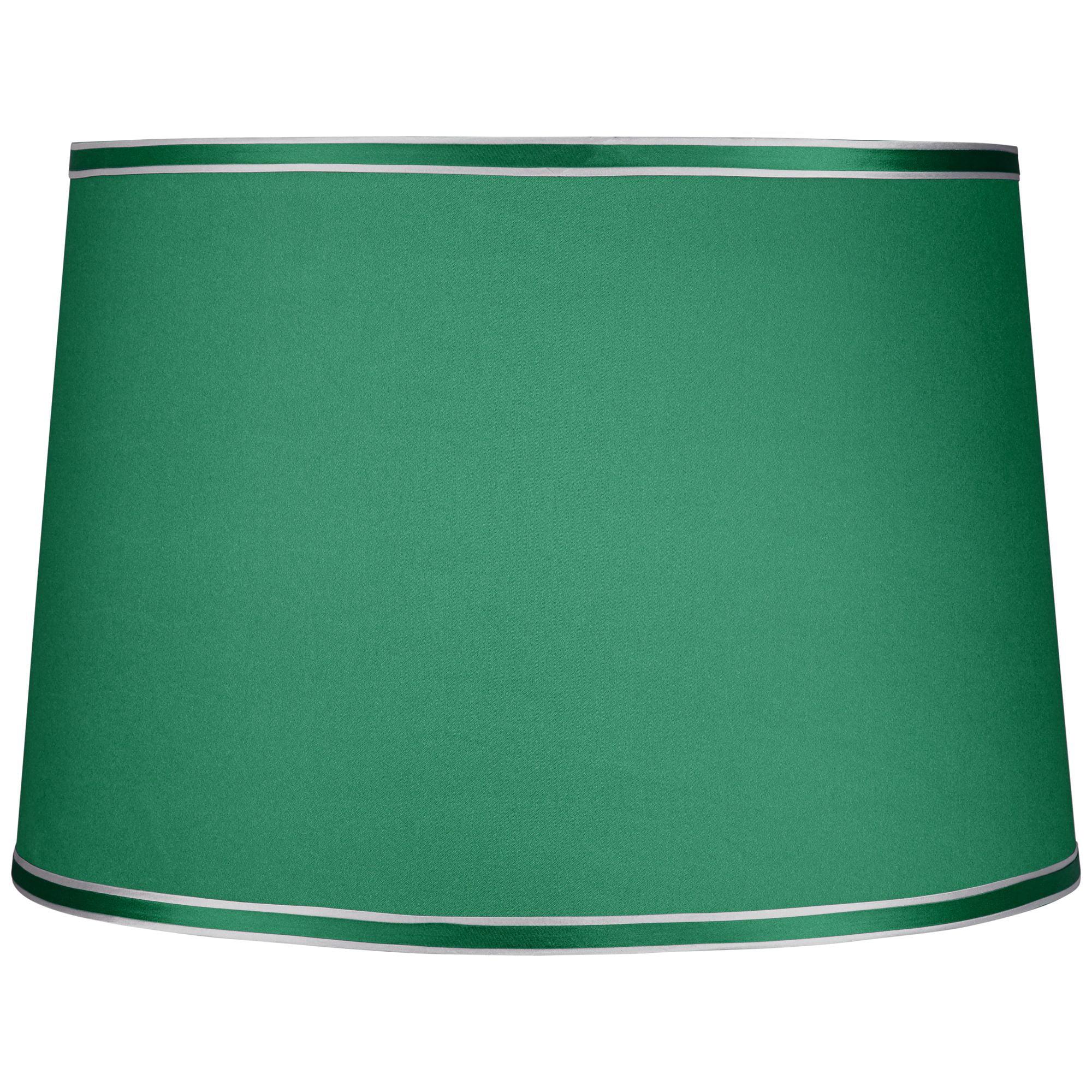 Brentwood Emerald Green Hardback Lamp Shade 14x16x11 (Spider)