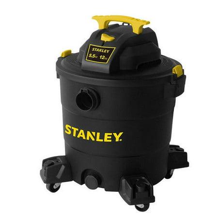 Stanley 12 gallon,SL18199P, 6-peak horse power, wet dry vacuum