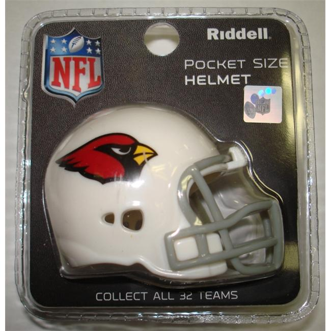 Creative Sports RPR-CARDINALS Arizona Cardinals Riddell Revolution Pocket Pro Football Helmet