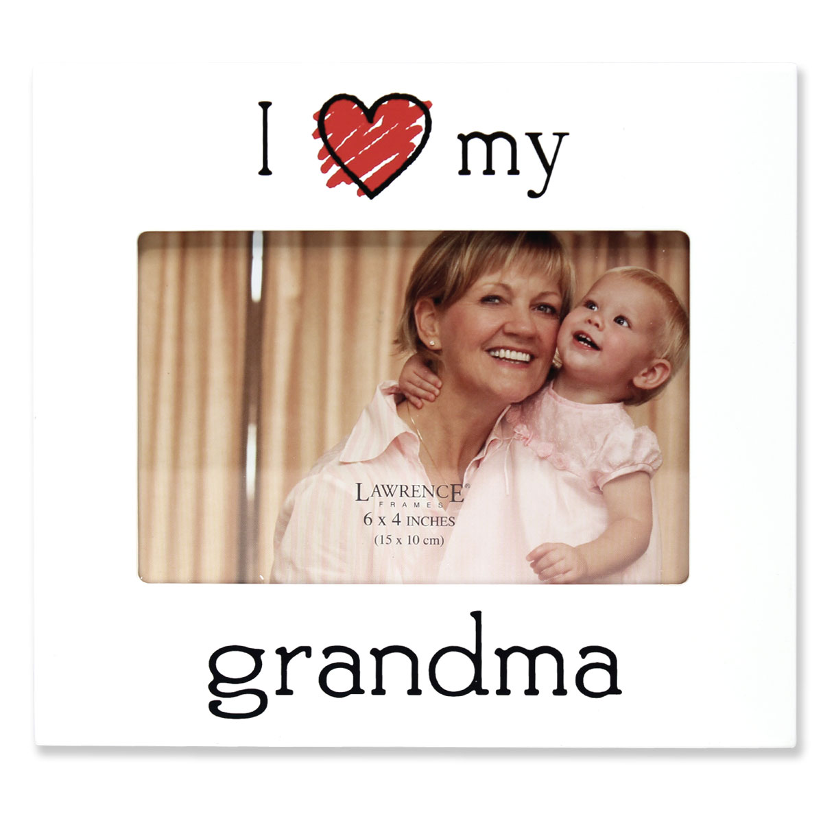 "6x4 ""I Love my Grandma"" Picture Frame"