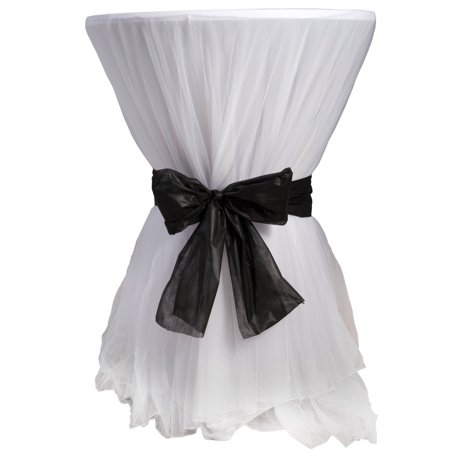 Stumps Tulle Cocktail Table Cover Set/2