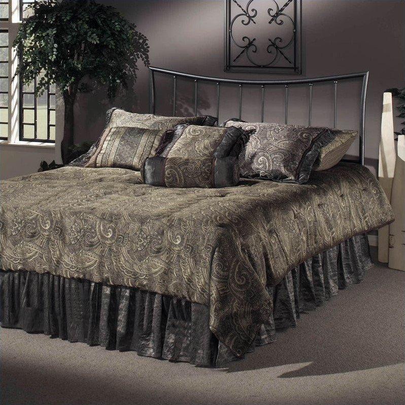 Hillsdale Edgewood Metal Bed-Twin