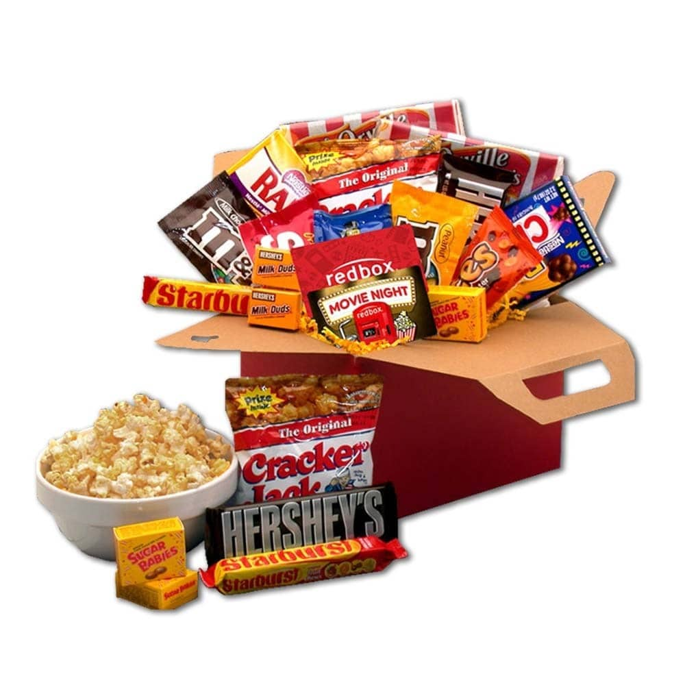 Gift Basket Drop Shipping Blockbuster Night Movie Care Package