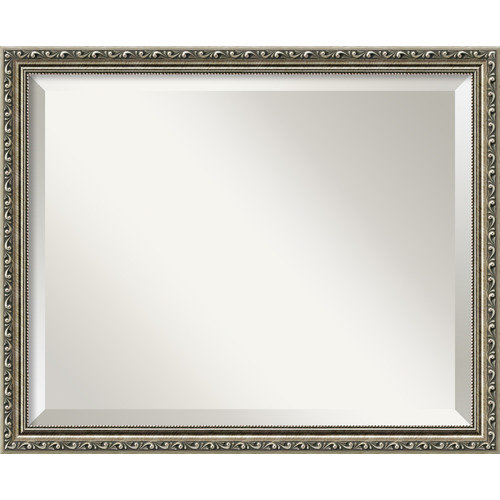 Amanti Art Parisian Silver Wall Mirror