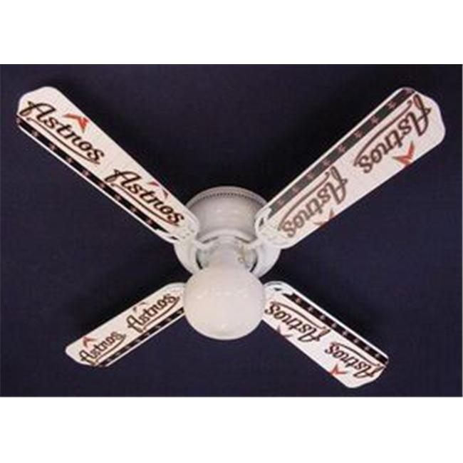 Ceiling Fan Designers 42FAN-MLB-HOU MLB Houston Astros Baseball Ceiling Fan 42 inch