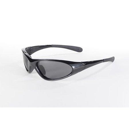 Pacific Coast Sunglasses Kickstart Blaze Polarized Sunglasses Black / Gray Polarized Lens (Sunglasses Blaze)
