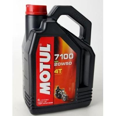 Motul Lubricants 836441 7100 4T 20W50 Synthetic Ester Motor Oil 1 Gallon (ea) for Off-Roads