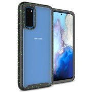 CoverON Samsung Galaxy S20 Case Heavy Duty Full Body Slim Fit Shockproof Clear Phone Cover - EOS Series