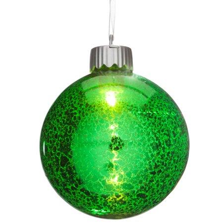 Mercury Lighted Ball Ornament ()