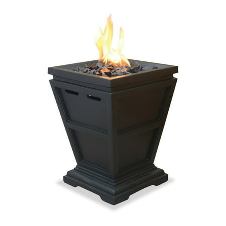 UniFlame LP Gas Fire Pit Tabletop Column ()