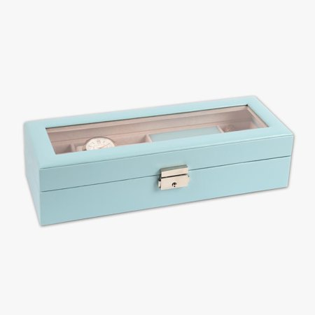 MonogramOnline Watch Case & Jewelry Storage Valet ()
