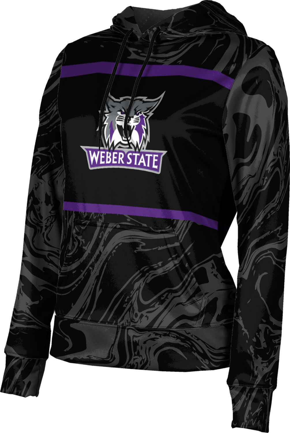 Weber State University Girls Pullover Hoodie Drip School Spirit Sweatshirt