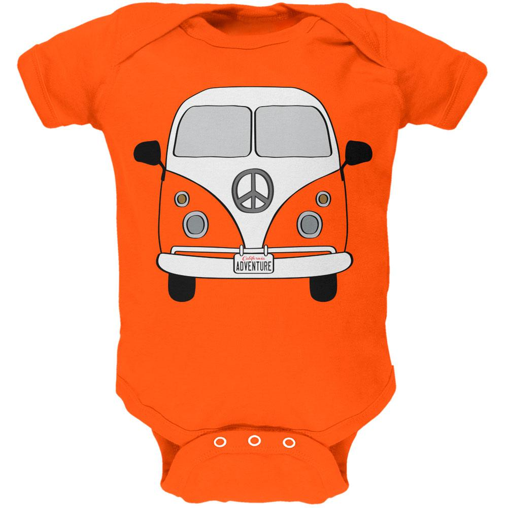 Halloween Travel Bus Costume Camper Adventure Soft Baby One Piece