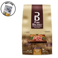 Pure Balance Chicken & Brown Rice Dry Cat Food, 3.5 lb