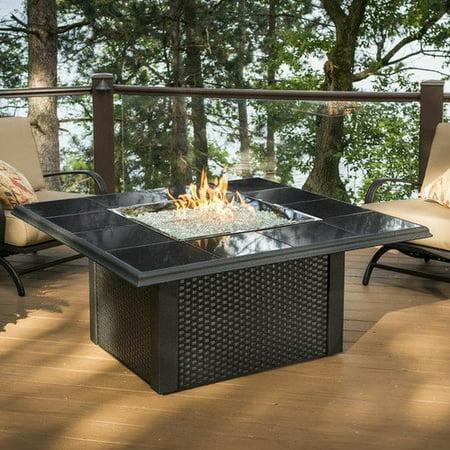 The outdoor greatroom company napa valley crystal fire pit for Great outdoor room company