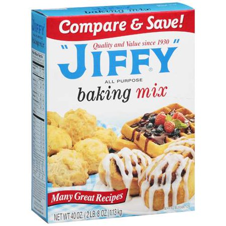 Jiffy all purpose baking mix 40 oz for Atkins cuisine all purpose baking mix where to buy