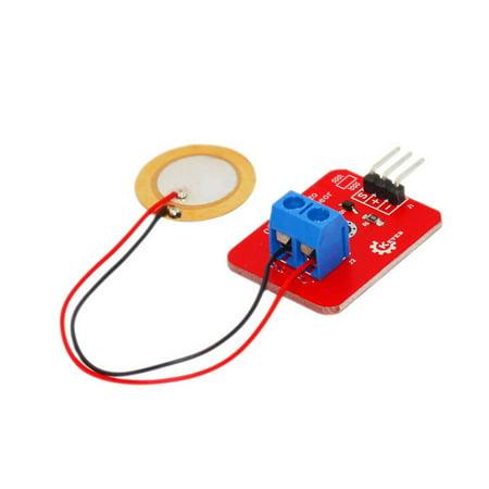JOYFEEL Analog Piezoelectricity Ceramic Vibration Sensor Piezo Vibration Sensor for ARDUINO Development Board