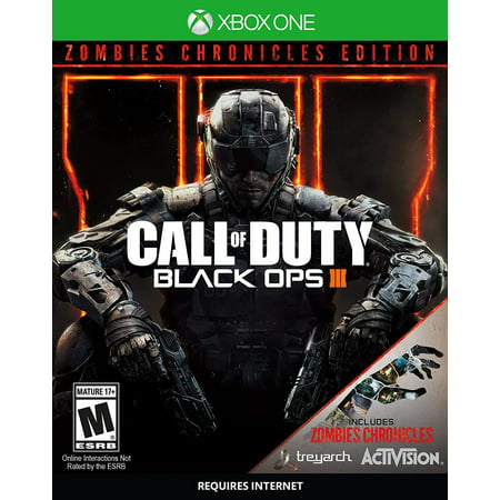 Call of Duty Black Ops III Zombie Chronicles - Xbox One, Eight fully-remastered Zombies maps By by