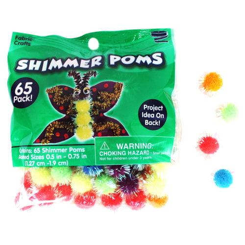 Pom Shimmer Mix, Medium, 65-Count